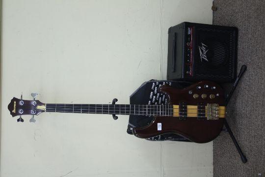 Ibanez Musician Mc900 Bass Guitar Ash Mahogany Body Maple Neck
