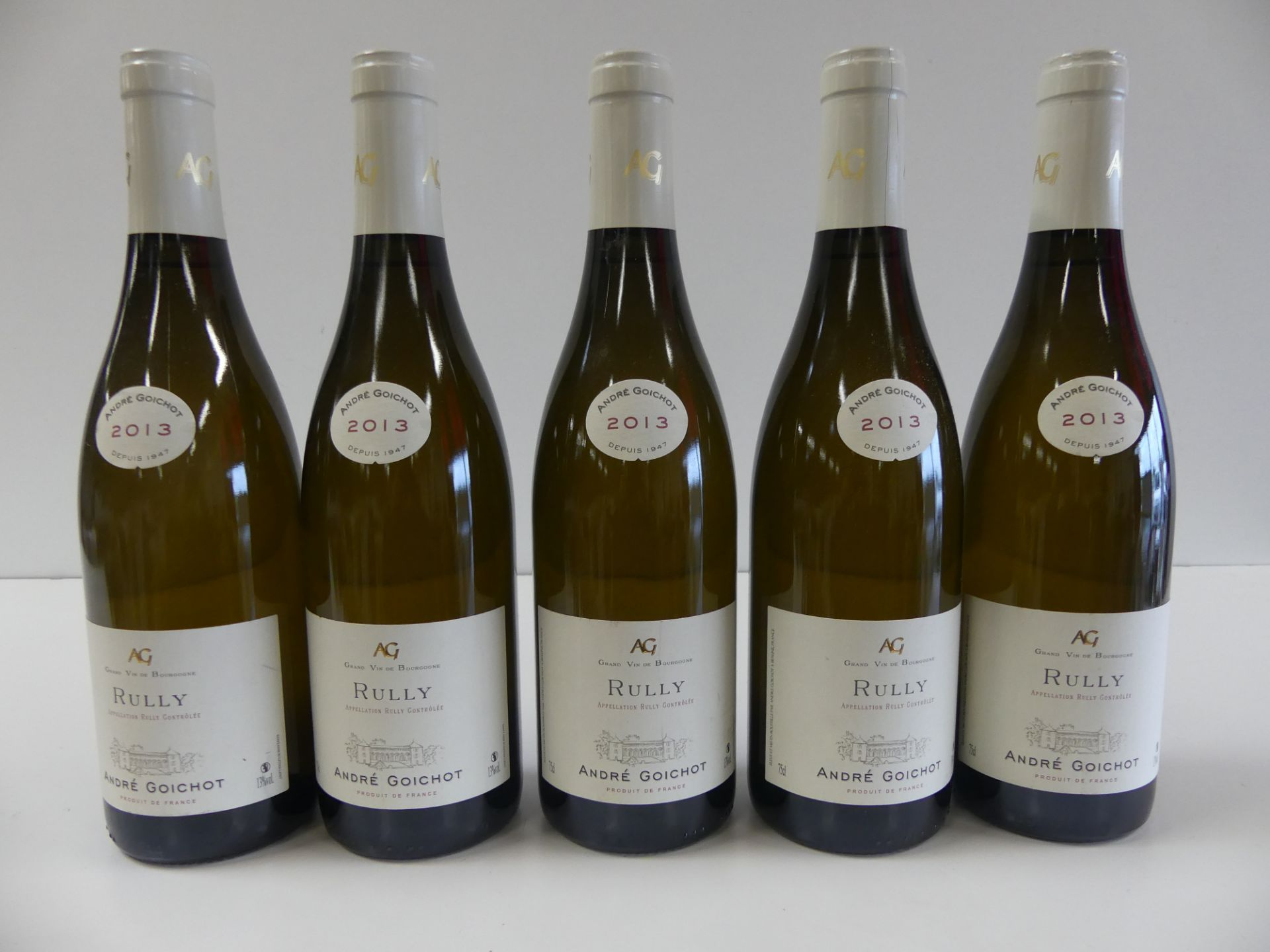 Los 17 - 5 Bourgogne Blanc Rully André Goichot 2013 -