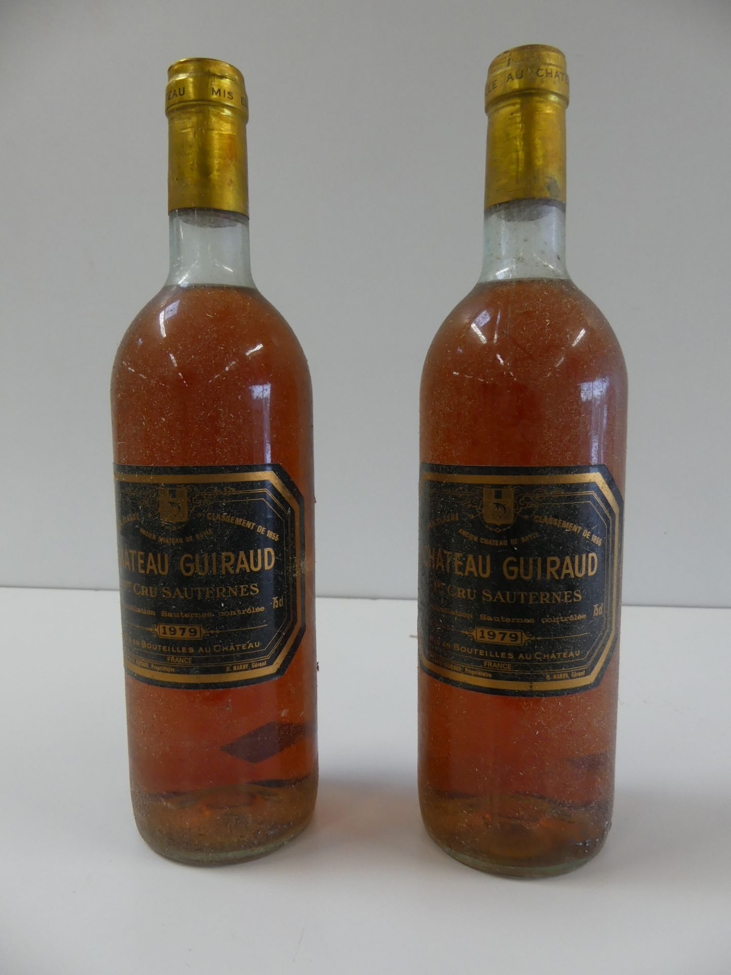 Los 36 - 2 Château Guiraud 1er Cru de Sauternes 1979 -