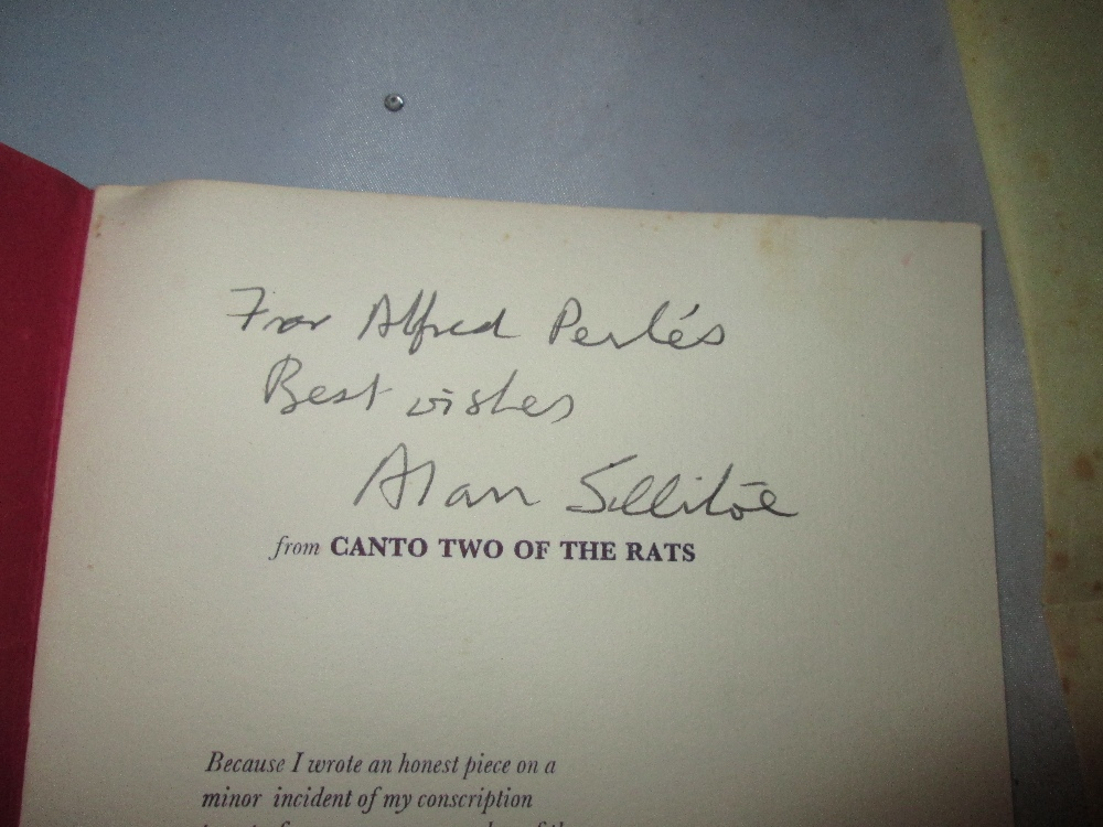 Lot 22 - Single Volume : from Canto Two of the Rats by Alan Sillitoe 1973,