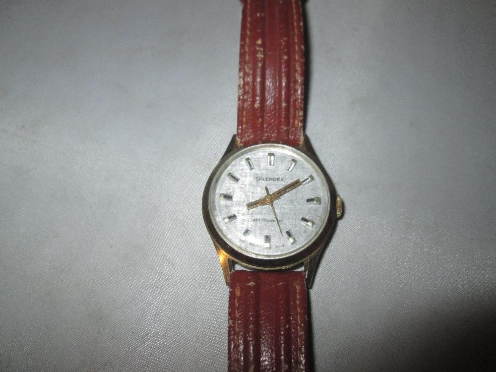 Lot 24 - Vintage Splendex & Timex gents wristwatch