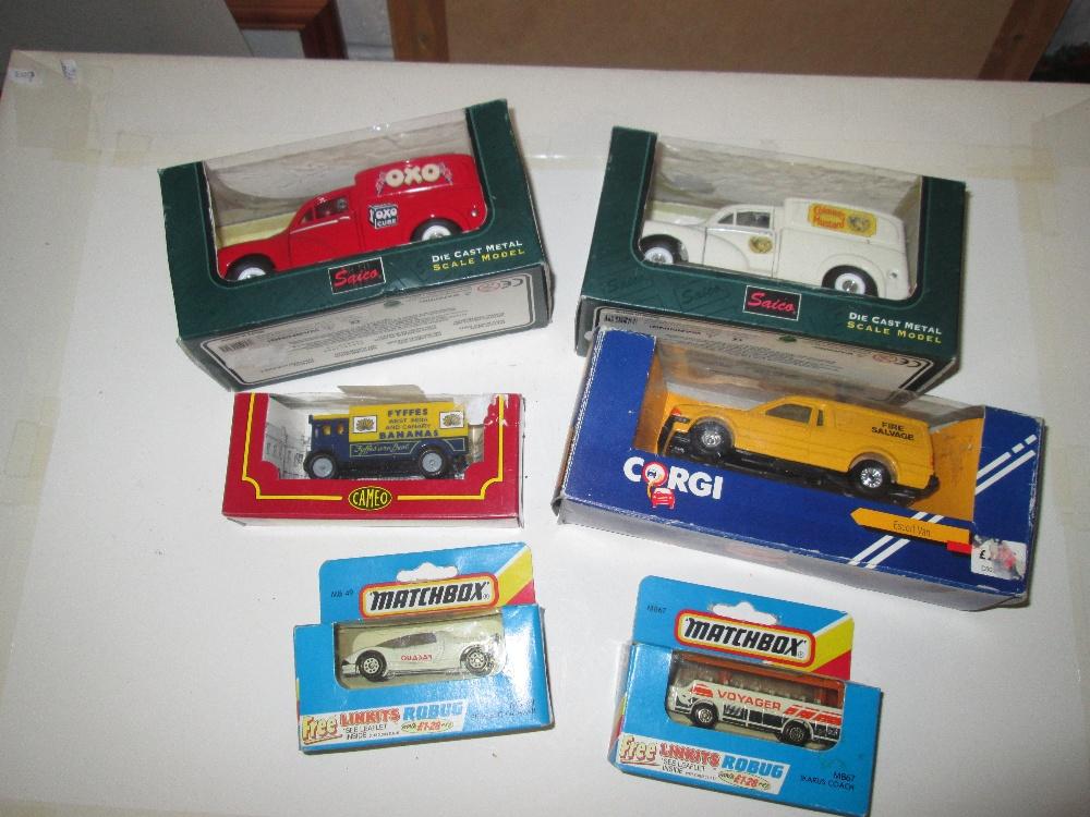 Lot 41 - Various toy cars : Corgi & Matchbox (boxed)