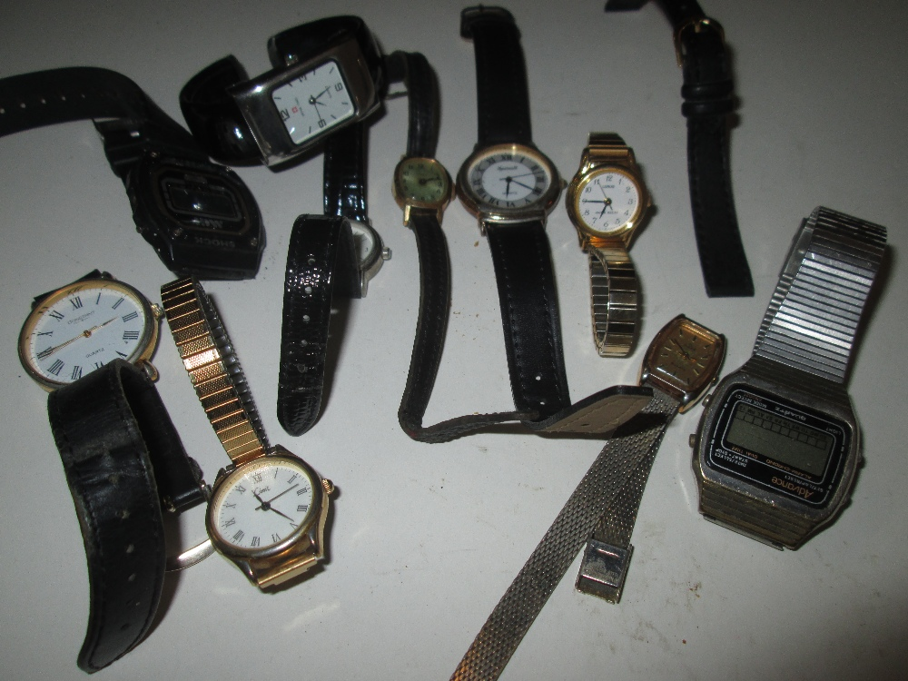 Lot 35 - bag of assorted wristwatches