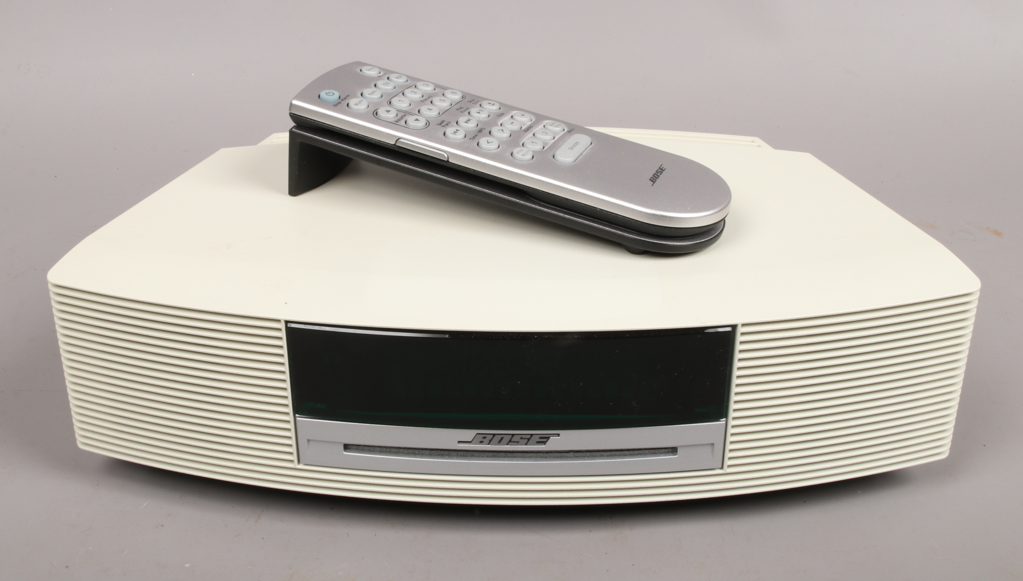 Lot 1 - A Bose Wave music system III DAB with C.D player, two remote controls and full instruction
