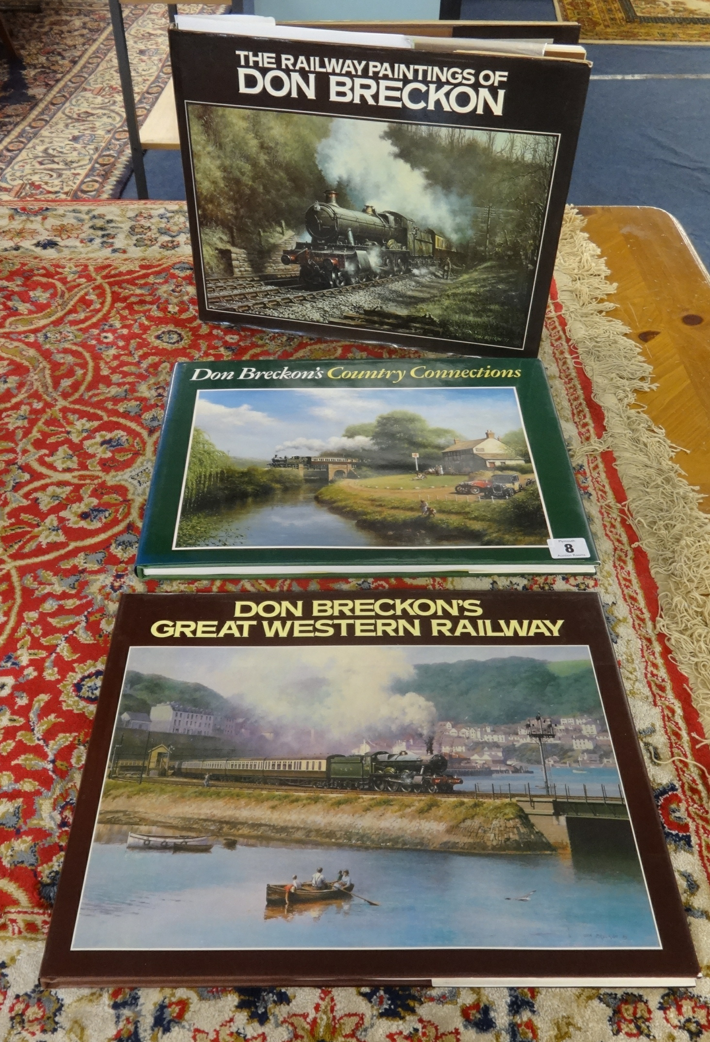 Lot 008 - Three Don Breckon books including Don Breckon Great Western Railway published by David and Charles