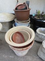 Lot 15 - SELECTION OF GARDEN PLANTERS