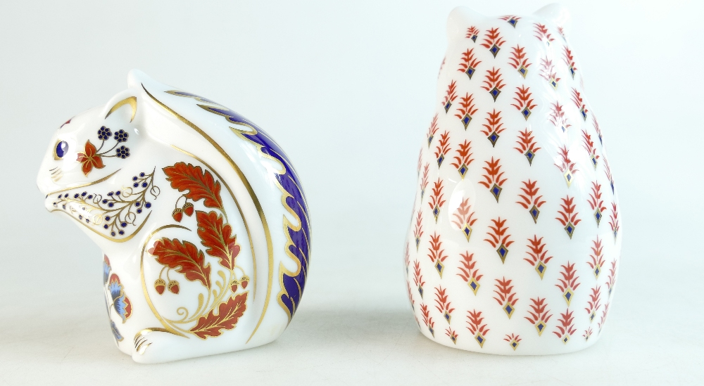 Lot 308 - Royal Crown Derby paperweights Hamster a