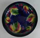 Lot 492 - Moorcroft footed dish decorated in the L