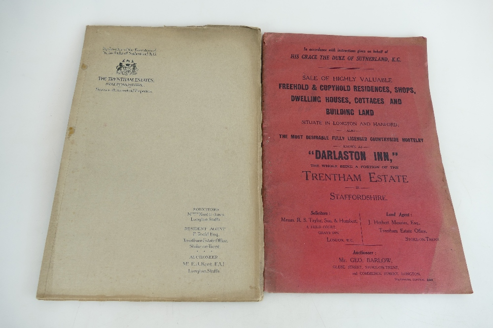 Lot 298 - Auction sale catalogues for the 'Sale of