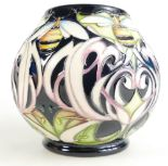 Lot 516 - Moorcroft Dance of the Bumblebee vase. S