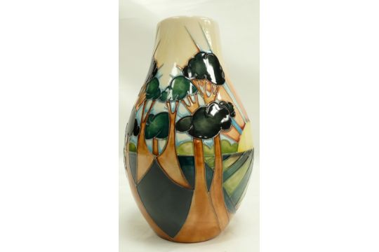 Moorcroft Day Break Vase Trial Piece 61114 Height 23cm 1st In