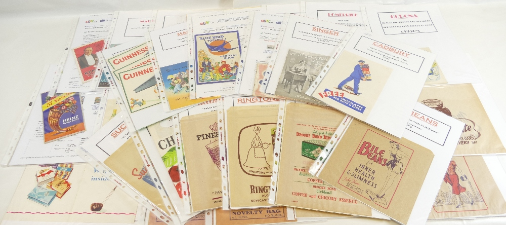 Lot 54 - FOOD and DRINK RELATED BOOKLETS - large quantity - Cadbury, Bluebird Toffee, Martini, Guinness,