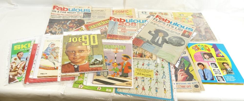 Lot 45 - Magazines Comics and Annuals x nineteen.