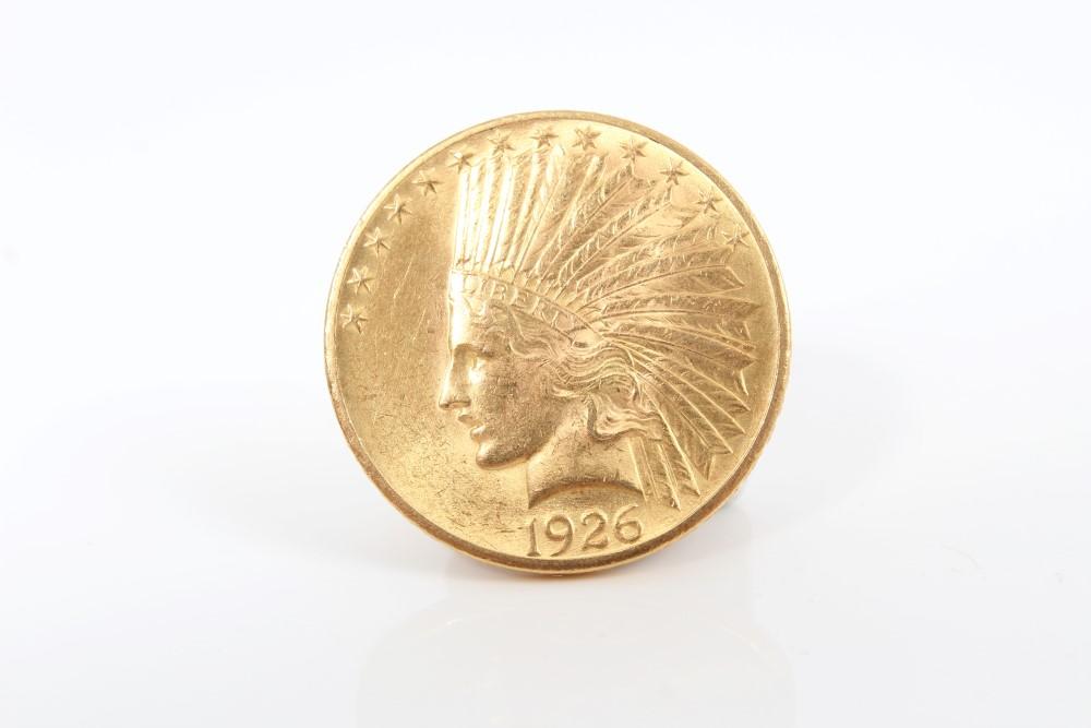 Lot 2 - United States - gold Indian Head $10 (Eagle) 1926.