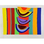 SIR TERRY FROST RA (BRITISH 1913-2003), Swing Rhythm, a limited edition colour screen print, No.26/