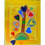 SIR TERRY FROST RA (BRITISH 1915-2003), The Love Tree, a hand embellished limited edition screen