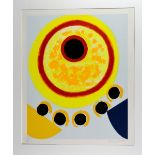 SIR TERRY FROST RA (BRITISH 1915-2003), Five Black Moons, a limited edition colour silk screen