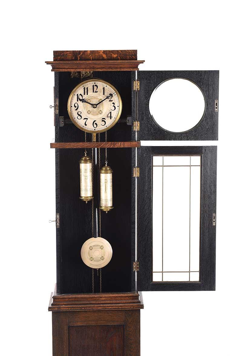 Arts And Crafts Longcase Clock