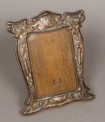 An Art Nouveau silver photograph frame - WITHDRAWN