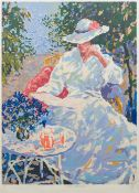 DUFFY (20th century) Summer Afternoon I Limited edition artist's proof print, signed,
