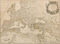 GILLES ROBERT DE VAUGONDY (1688-1766) Fr