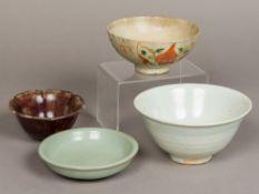 An antique Chinese celadon bowl
