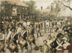 The Occupation of New York by the American Troops, Nov.