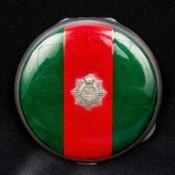 An enamel decorated Sterling silver Regi