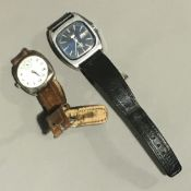 A gentleman's Seiko automatic watch,