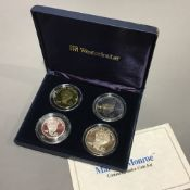 A cased Marilyn Monroe commemorative coin set,