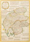 EMANUEL BOWEN (1694-1767) English and THOMAS BOWEN (died 1790) English,