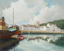 C JOHN MAIN (20th century) British (AR) Inveraray Oil on canvas Signed and dated 11.