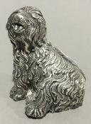 A model of a dog