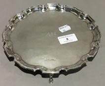 A small silver salver (10 troy ounces)