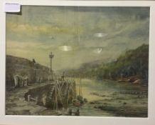FREGUS STEVENS, Harbour View,
