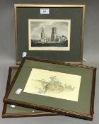 A pair of LIONEL EDWARDS prints,