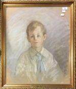 B. CLARKE (20th century) British. Portrait of The Honourable Dominic Browne.