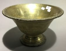 A large Eastern bronze bowl