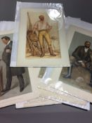 A mixed collection of original Vanity Fair prints (1869-1914) to include fox hunters, game hunters,