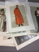 A collection of original Vanity Fair prints (1869-1914) depicting Army and Navy leaders (12)