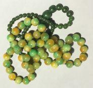 Two strings of jade