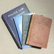 Four various WWII police books