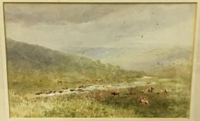 ENGLISH SCHOOL (19th/20th century), Amid the Yorkshire Dales,