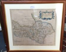 North Riding of Yorkshire map by ROBERT MORDEN,
