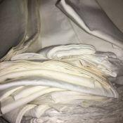 A quantity of linen napkins