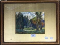 M K HENRY, Woodland Scene,