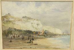 ENGLISH SCHOOL (19th/20th century), Coastal Scene, Watercolour, Signed,