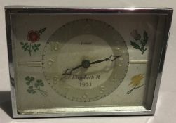 An Enfield 1953 Coronation clock