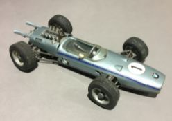 A Schuco BMW Formel 2 clockwork racing car