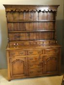 A good quality George III style dresser